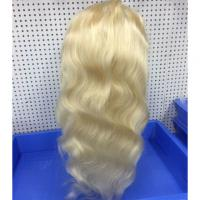 China Platinum Full Lace Remy Human Hair Wigs Body Wave Cuticle Aligned 30 Inch for sale