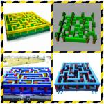 Inflatable Labyrinth, Ourdoor Inflatable Maze Games For Business Promotion for sale
