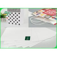Width 748mm × 528mm High Stiffness 250gsm White Top Liner Paper For Packing for sale