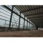 Multifunctional Steel Structure Construction For Poultry Fame Shed With Grey Color for sale