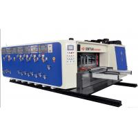 China High Precision Carton Making Machine 15kw - 30kw With 20crmnti Alloy Steel Transmission for sale