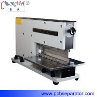 Pneumatic V Cut Pcb Separator With Two Japan High Speed Steel Linear Blades for sale