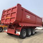 CIMC 196 Hydraulic Cylinder 24V 40T Tipper Semi Trailer
