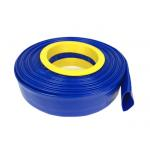China Standard Pressure Flexible Hose , PVC Layflat Pump Water Hose / Pipe / Tube For Washing Drain for sale