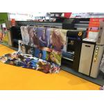 Cmyk Digital Fabric Printing Equipment 6kw Heater Power Roll To Roll Plate Type for sale