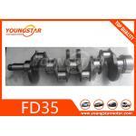 Casting Iron Engine Crankshaft For NISSAN ED33 FD35T 12200-T9000 12200-01T00 for sale
