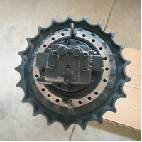 China Excavator 320D Travel Motor Construction Vehicle Parts supplier