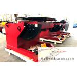 3000kg Fixed Pipe Welding Positioners , Automatic Rotary And Tiltling Turntable Positioner for sale