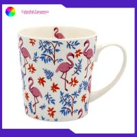 Japanese Style Promotional Ceramic Coffee Mugs Food Contact Safe Grade for sale