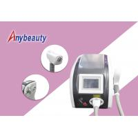 500w Nd : Yag Laser Tattoo Removal Machine Air + Water + Temperature Control Cooling