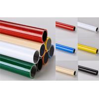 China Multi color  ESD Black  Lean Pipe PE Coated 0.8MM / 1.0MM / 1.2MM Thickness Pipe for sale