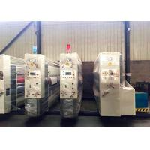 Packing Linkage Corrugated Carton Box Vacuum Feeder Flexo Printing Slotting Gluing Bundling Machine for sale