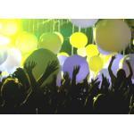 Custom Shape LED Light Advertising Inflatables Balloon Beach Ball Shining for sale