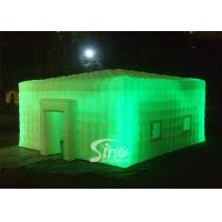 8x8 meters outdoor giant led light inflatable cube tent for parties or events etc for sale