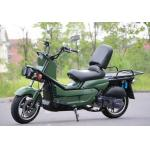 10 Aluminium Wheel Motor Powered Scooter / Adult 2 Wheel Scooter With Windshield for sale