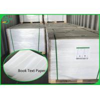 China Uncoated Rolling 20LB 22LB 50LB Book Text White Offset Print Paper 90CM 100CM for sale