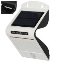 20 Led Solar Powered Outside Wall Lights Motion Sensor With 1pc 2200mah Battery for sale