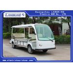China 4 Wheel 5 Seats Electric Passenger Vehicle ,electric mini bus 48V,Luggage compartment for disabled car for sale