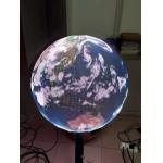 OEM customized LED pantallas P1.9 globe sphere ball display 0.5m diameter private individual module for sale