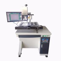 China CCD Visual 3D Automatic Laser Marking Machine Small Laser Marker 10-200kHz for sale