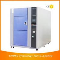 PCB And LED Resistance Cold Heat Shock Test Chamber Touch Screen Control for sale