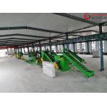 China Energy Saving Plastic Washing Plant , PET Washing Machine Low Noise Custom Color for sale