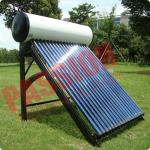 China Indirect Loop Solar Power Hot Water System , Roof Mounted Solar Water Heater Pipes for sale