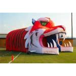 Giant Inflatable Tiger Tunnel, Infaltable Tunnel For Outdoor Advertising for sale