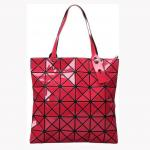 Folding One Shoulder Rhombic Portable Shopping Bag for sale