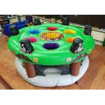 Funny 0.55mm PVC Tarpaulin Inflatable Sports Games With Silk - Screen Printing for sale