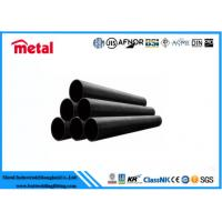 Seamless Black Carbon Steel Pipe , ASME SA213 T5 Industrial Steel Pipe for sale