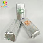 Waterproof Foil Pouch Packaging Stand Up Coffee Bag Gravnre Printing With Vent for sale