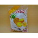 Pineapple Flavor Original Fresh Soft Milk Candy With Fruit Jelly Red Color for sale