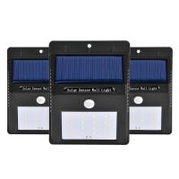 IP 65 Waterproof Solar Powered Dusk To Dawn Security Lights , Wireless Solar Pir Led Security Light for sale