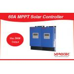 60 - 115VDC MPPT Solar Controller , Wet / AGM / Gel Batteries MPPT Solar Regulator for sale
