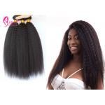 Black Peruvian Virgin Hair Bundles Peruvian Virgin Remy Hair Straight Kinky for sale