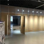 Aluminum Lightweight Acoustic Sliding Folding Partition Walls For Restaurant for sale