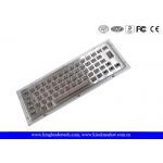 NEMA4 High Vandal-Proof Industrial Mini Metal Keyboard For Kiosk Applications for sale