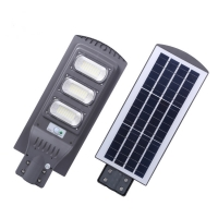 China SMD 90w Outdoor LED Street Lights Integrated Solar IP65 for sale