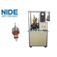 High frequency DC motor commutator hot-melt welding machine , Commutator O.D 5~60mm for sale