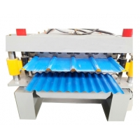 double layer roof wall panel roll forming machine