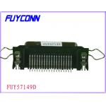 2.16mm Pitch 36 pin Ribbon R/A PCB Dip Type Connetor with Spring Latch and Board lock