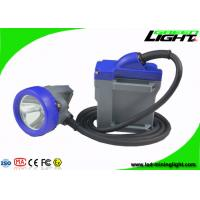 6.6Ah Rechargeable LED Mining Light Wired Electric Cap Lamp IP68 Waterproof for sale