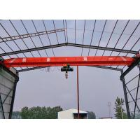 Single Girder Electric Overhead Crane Indoor Lifting Equipment Compact Structure Design