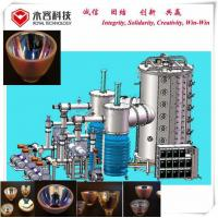 China Arc Vacuum Glass Coating Machine For Chandelier Pendant Lighting Φ 1800 * 3600mm for sale