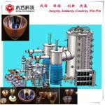 Arc Vacuum Glass Coating Machine For Chandelier Pendant Lighting Φ 1800 * 3600mm for sale