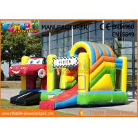 0.55mm PVC Play House Kids Castillos Inflables Bouncy Castle With Slide for sale