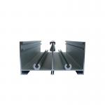 6063 Aluminium Extrusion Sliding Window Track Profiles Window Side Frame Building Materials