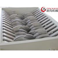 China PLC Control Double Shaft Shredder Electronic Waste Metal Shavings High Torque for sale