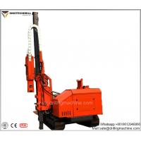 China Hydraulic And Power System Drill Rig Machine With 3760 Mm Lift Propel Movement for sale